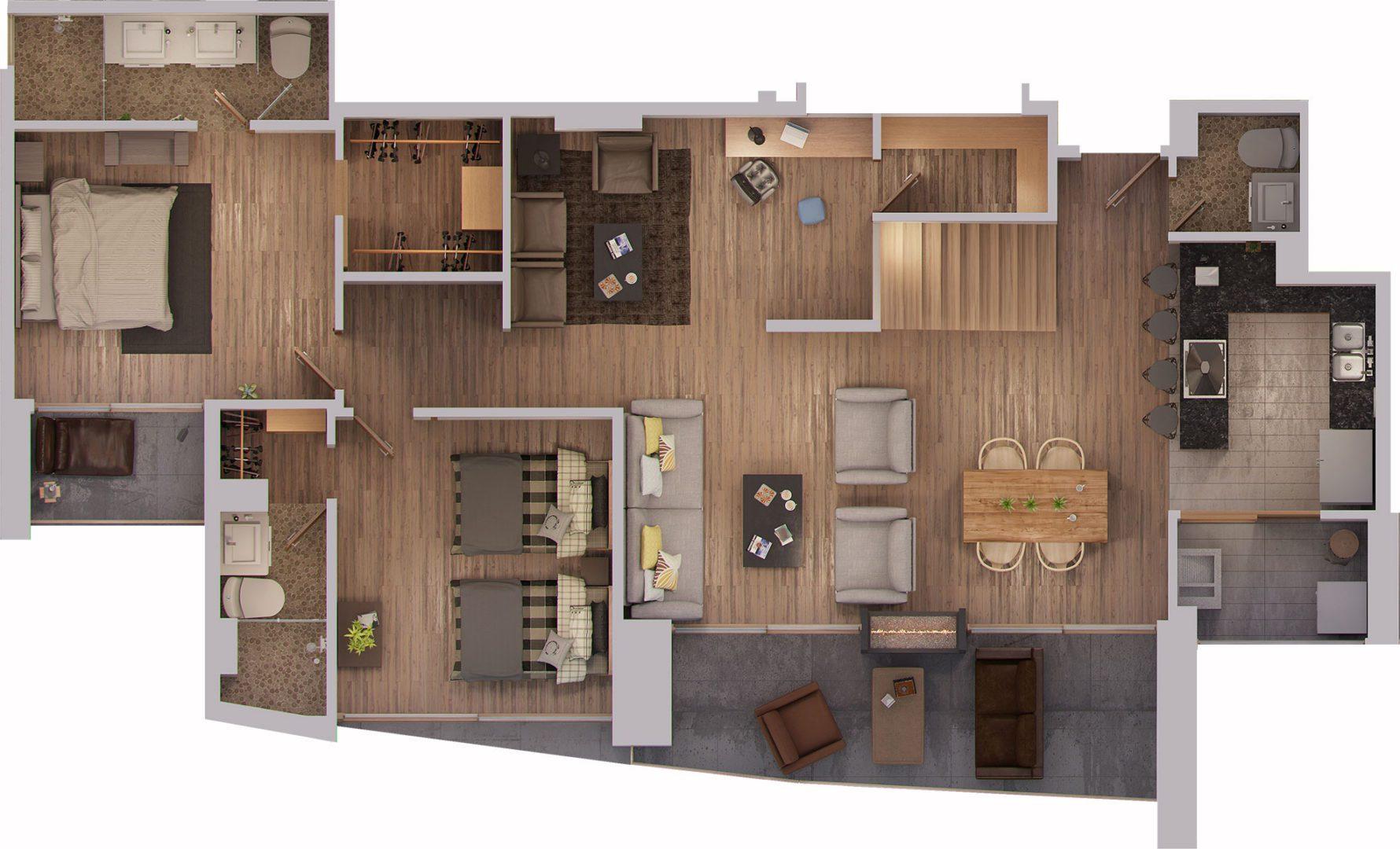 Suite-H-primer-piso-1080