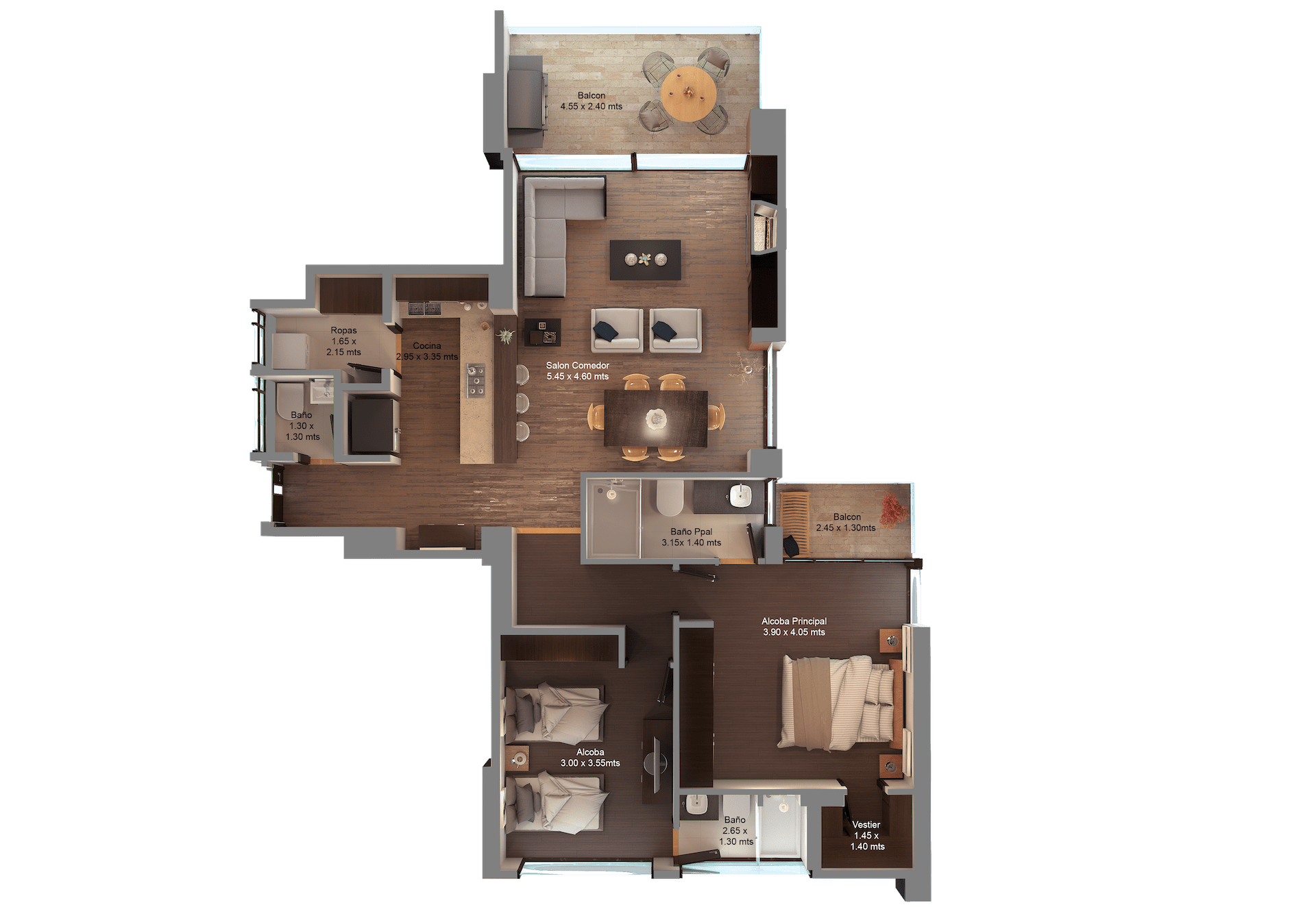 apartamento tipo B1 nombres-min